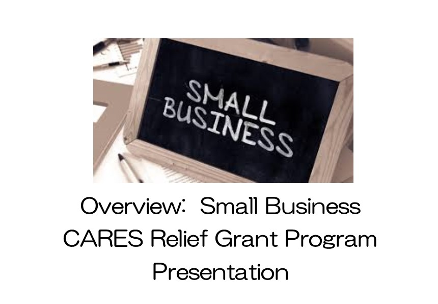 Small Business CARES Relief Grant image